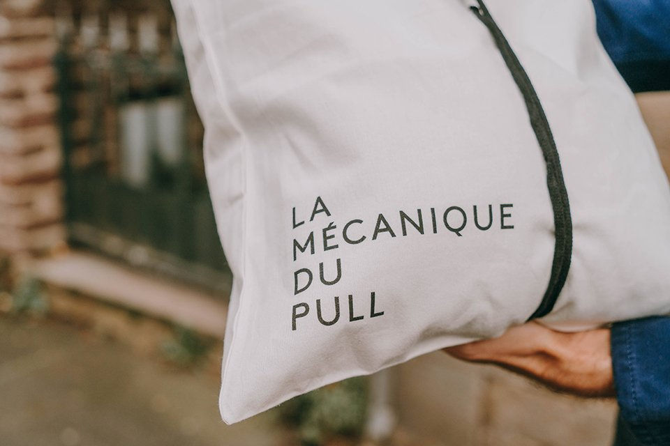 La mecanique du pull sac
