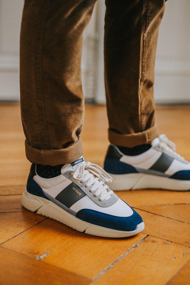 look - casual - velours - sneakers