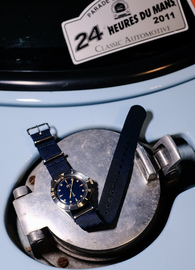 bnd watches blue