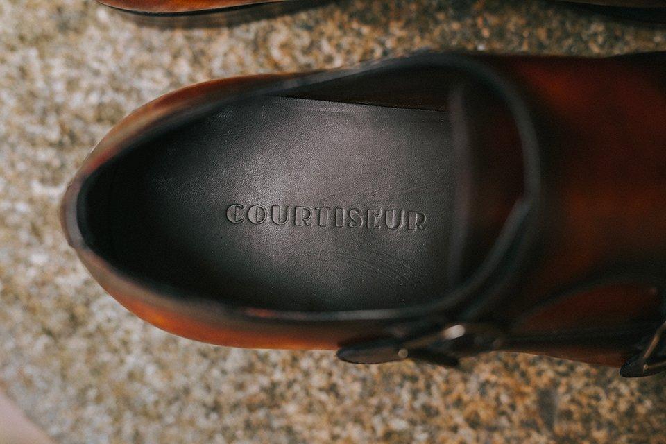 Chaussures Courtiseur Conception semelle interieure
