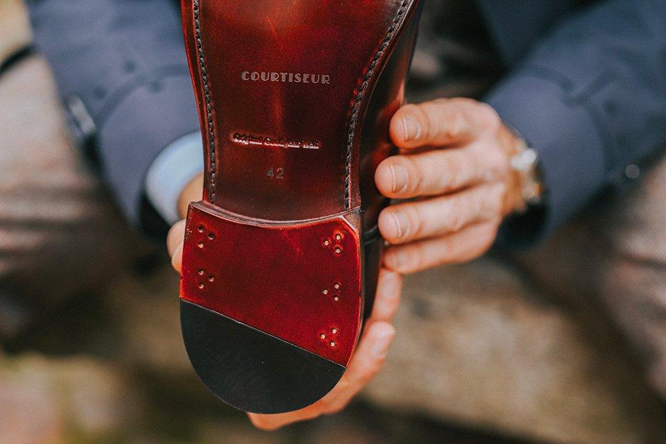 Chaussures Courtiseur Conception talon