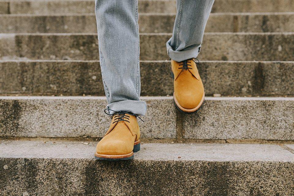 chaussures derby maison hardrige marches