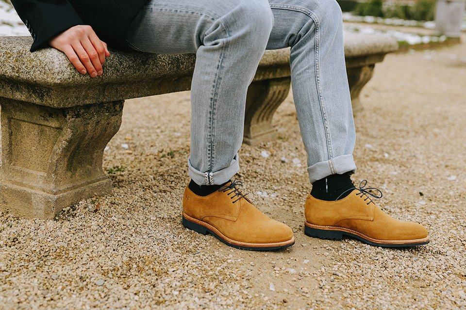 chaussures derby maison hardrige