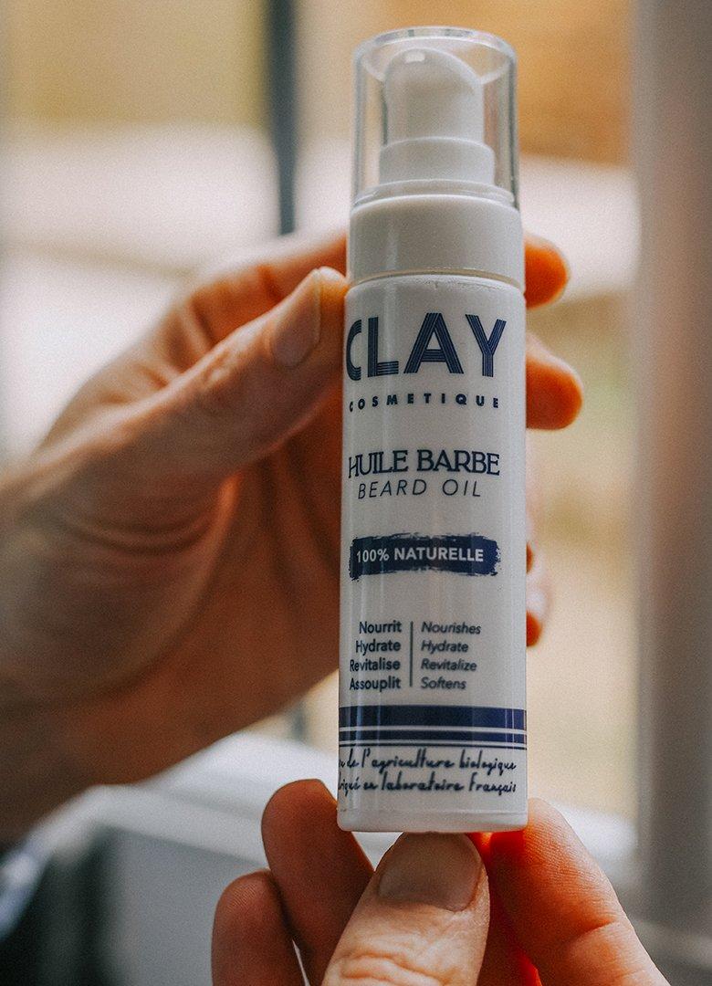 Huile barbe Clay Intro