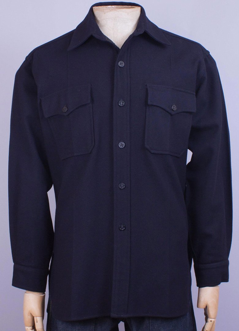 overshirt blue usn