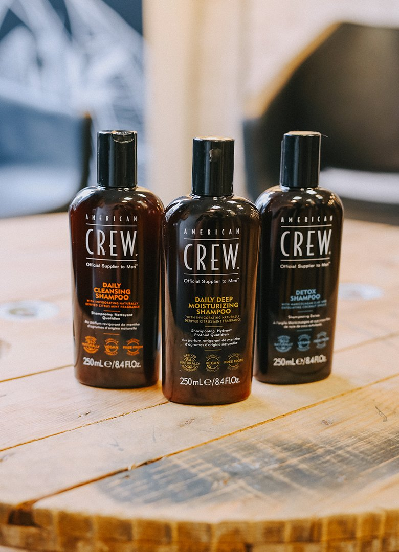 shampoing american crew gamme