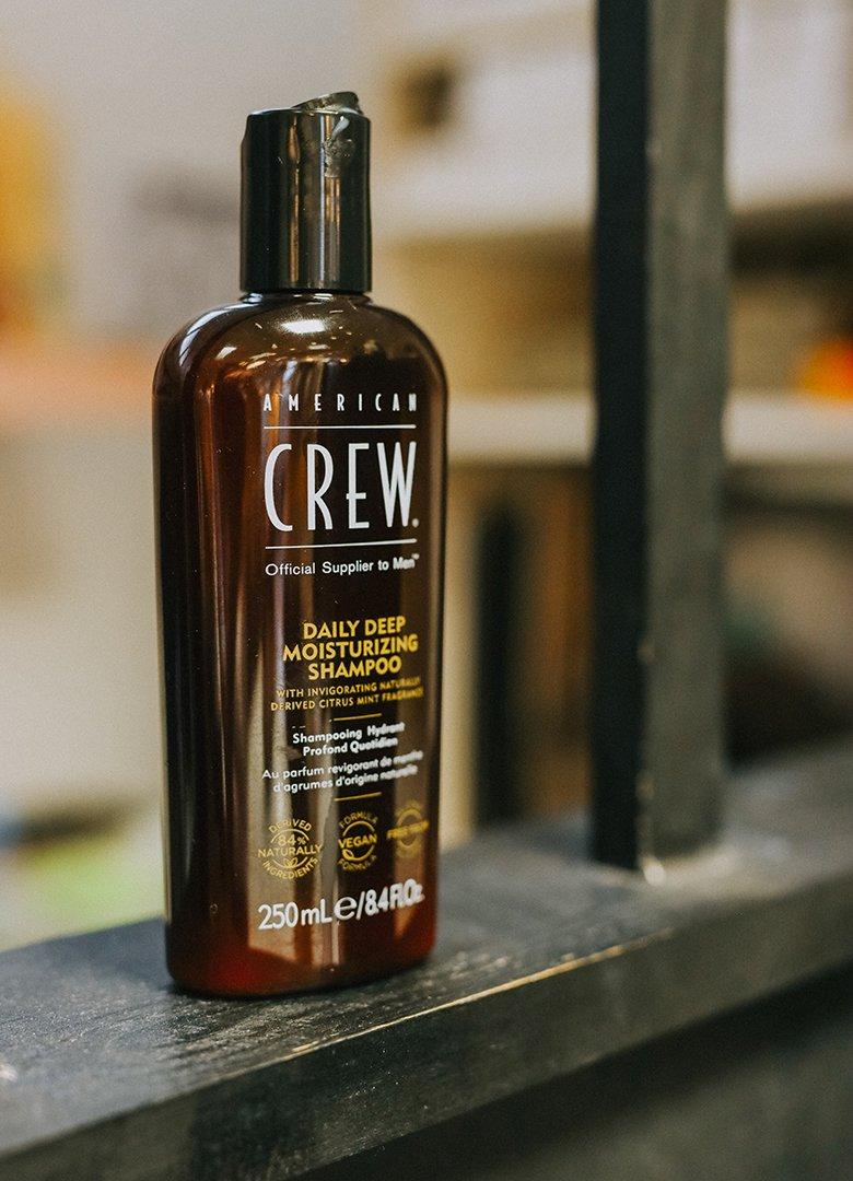 shampoing american crew yellow
