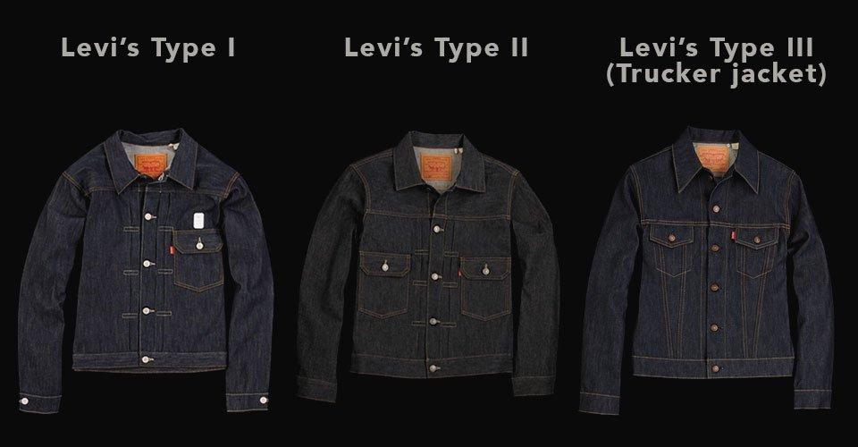 Type 1-2-3 Levis
