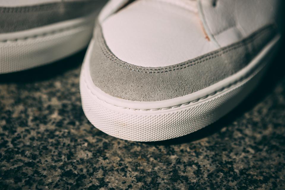 Bexley Sneakers Cuir Velours