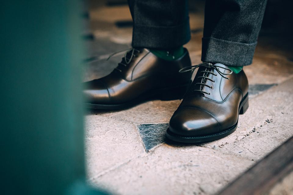 Chaussures Maison Le Duc Essayage Face