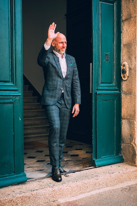Chaussures Maison Le Duc Essayage Portrait Salut