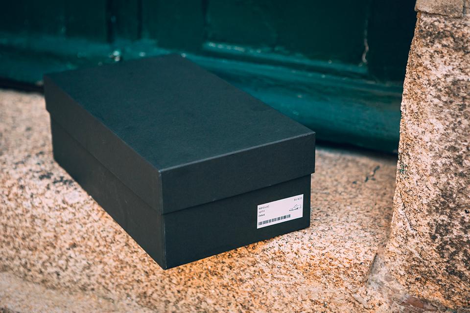 Chaussures Maison Le Duc Presentation boite