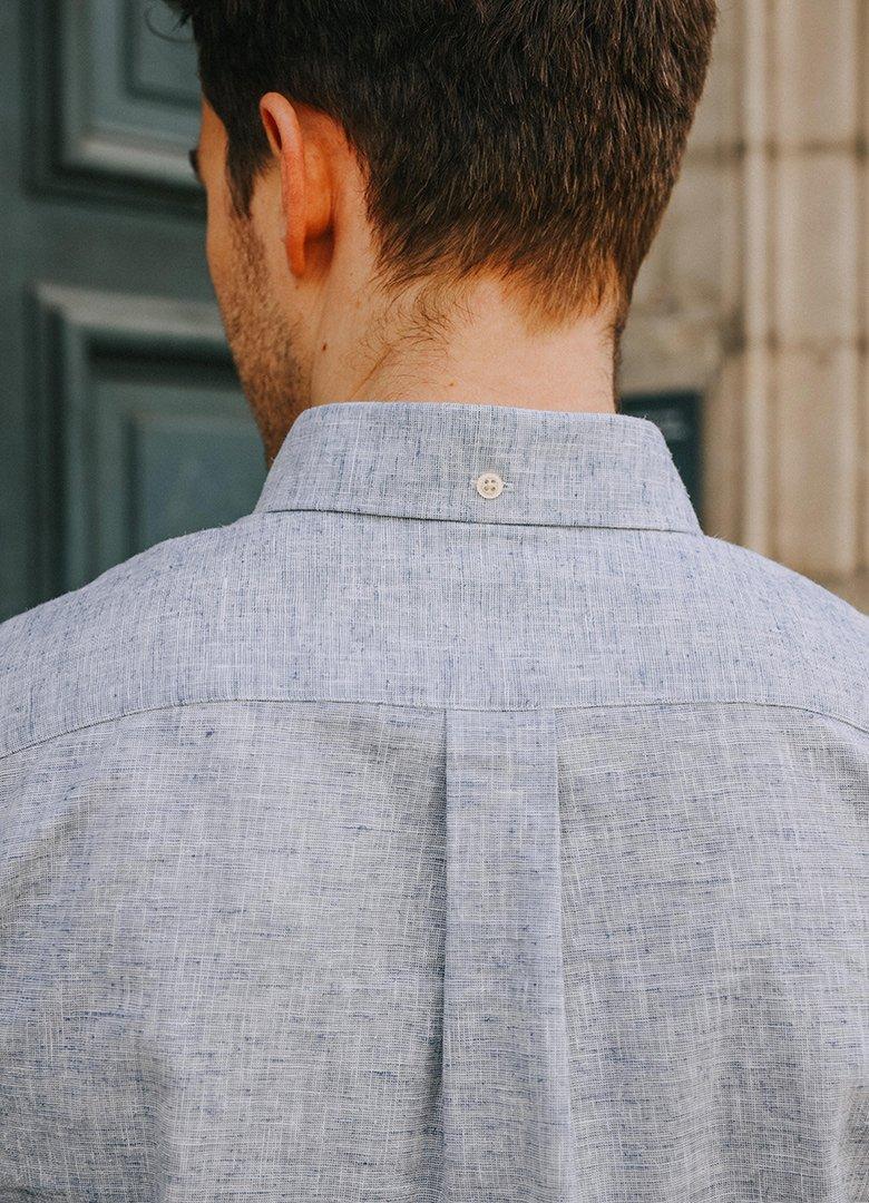 chemise hircus chanvre dos
