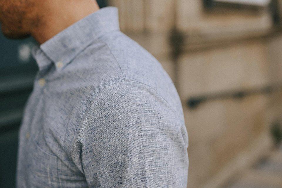 chemise hircus chanvre epaule
