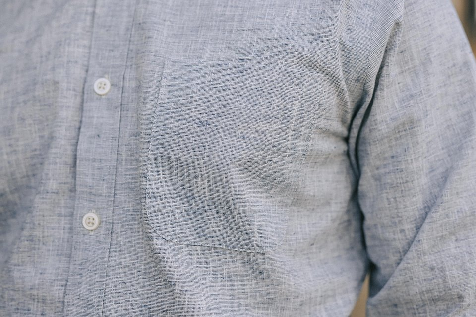 chemise hircus chanvre poche
