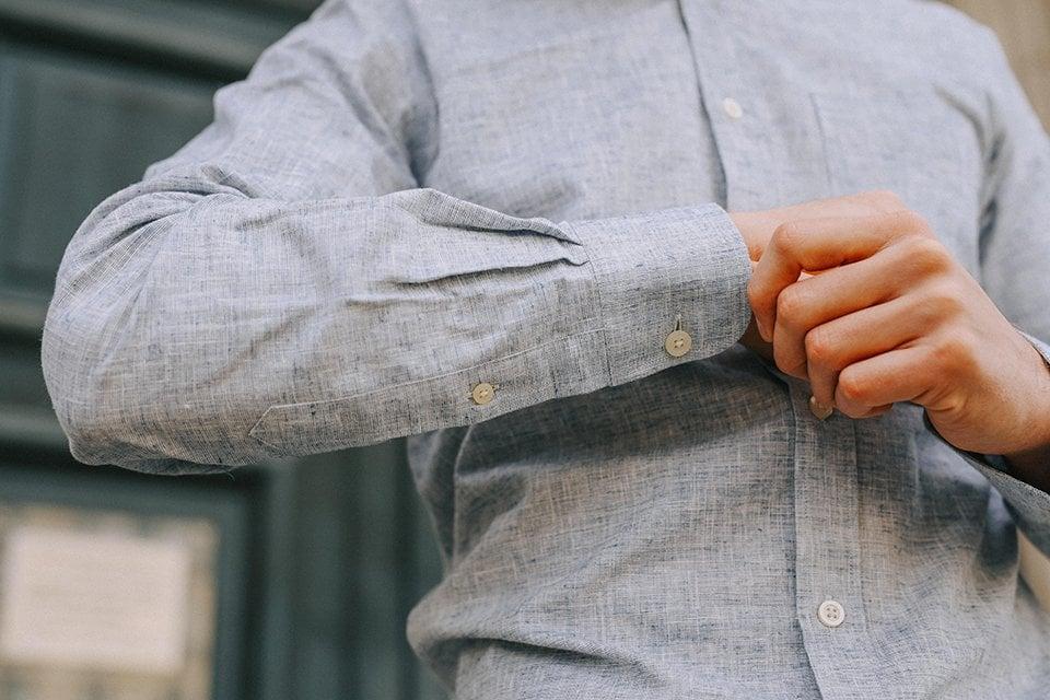 chemise hircus chanvre poignet2