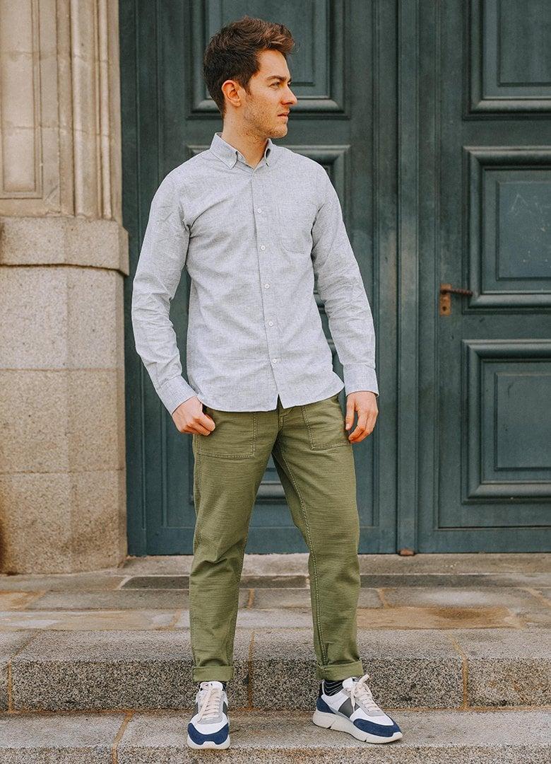 chemise hircus chanvre portrait