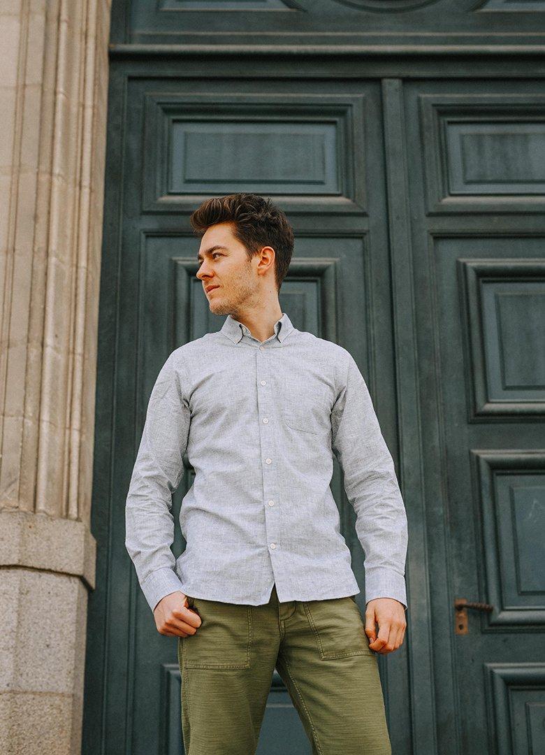 chemise hircus portrait sol