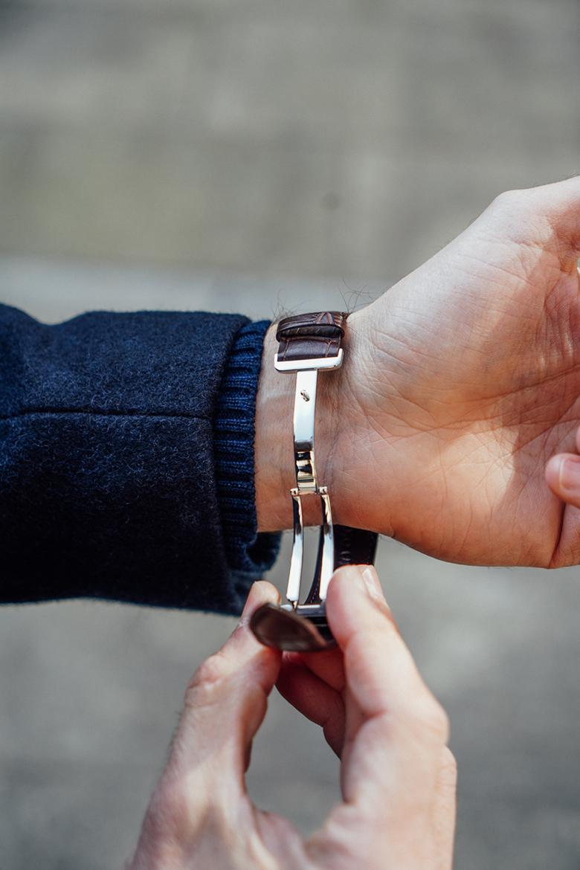 montre Seiko Prospex boucle sur poignet