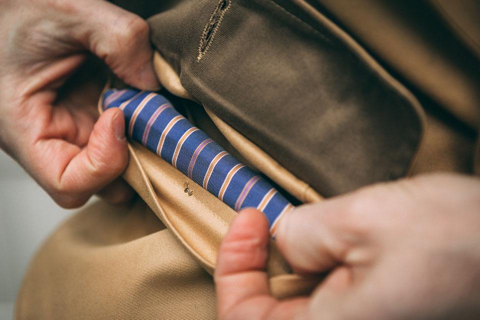 Saharienne Wicket conception doublure poche