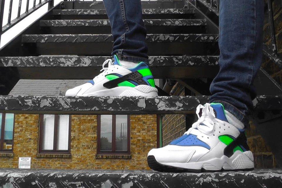 sneakers nike huarache 30 anniversaire 2021