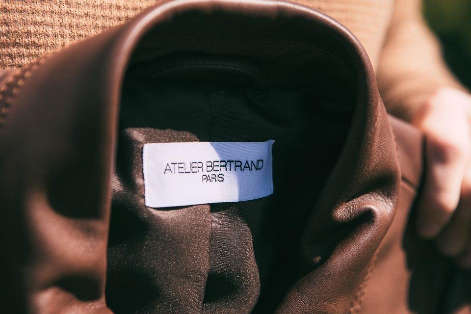 Veste-Homme-etiquette-cuir