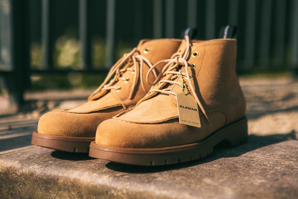 kleman chaussures design homme boots