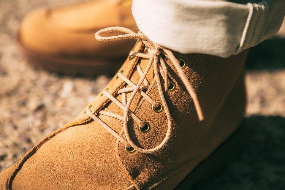 kleman détail look homme boots