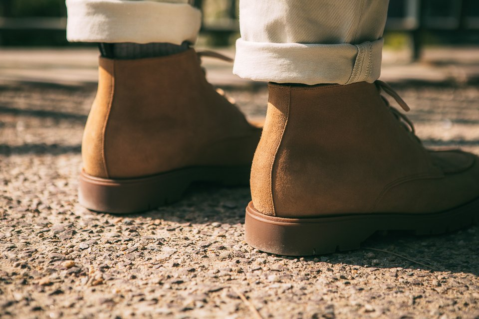 kleman chaussures tige homme boots