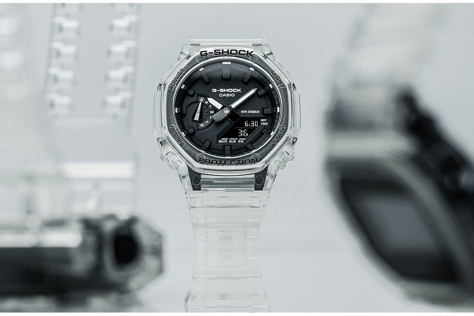 Casio G-Shock CasiOak bearbeitet MFH3981
