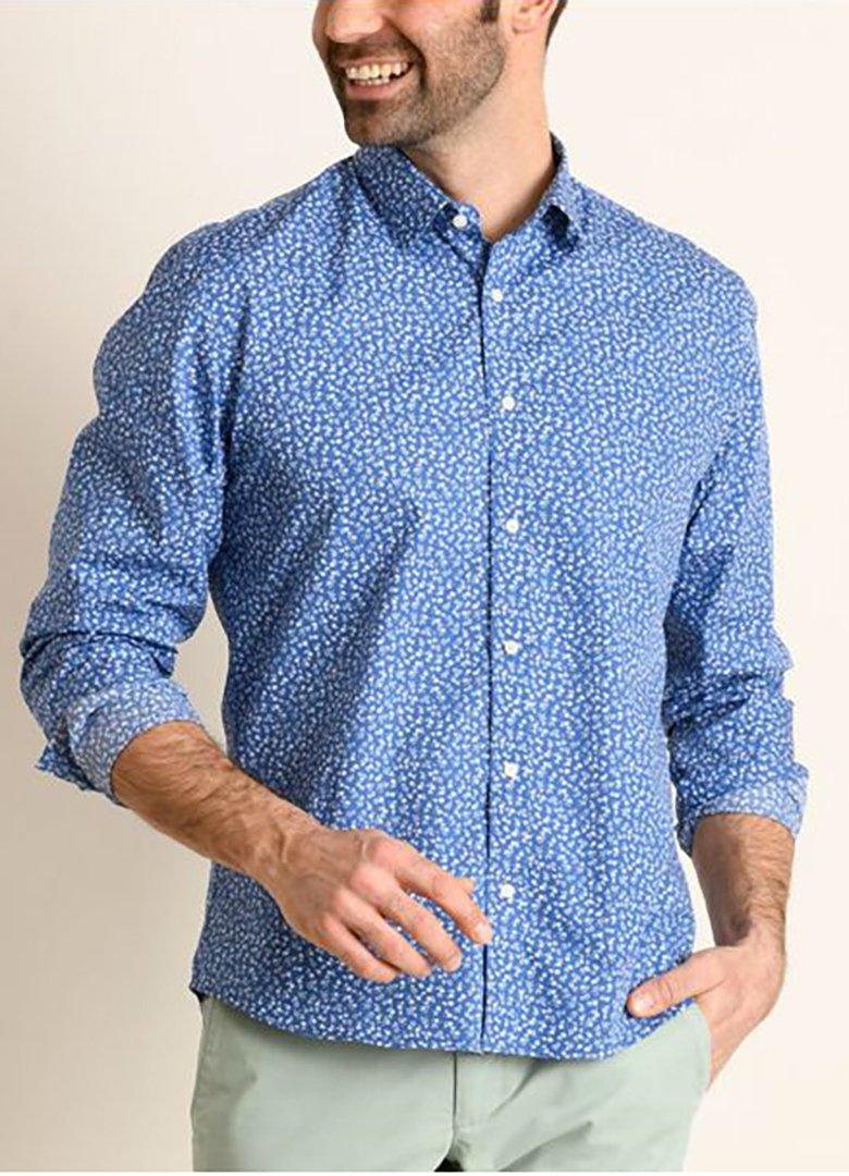 chemise bleue bexley