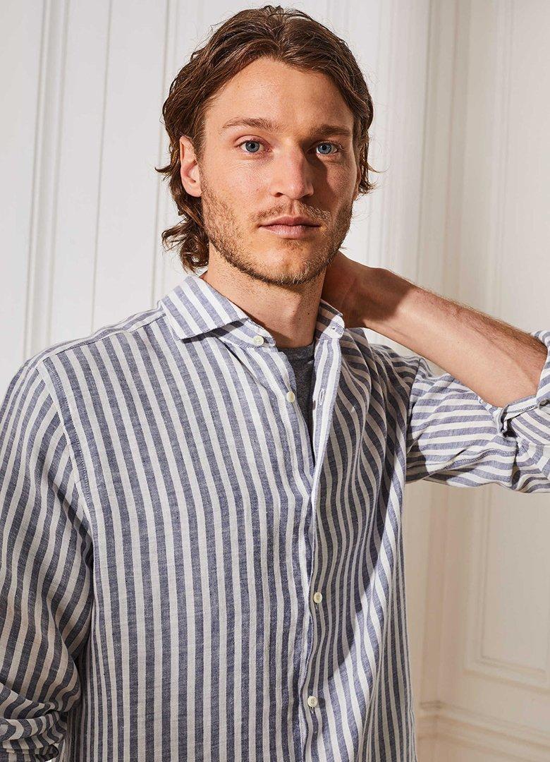 chemise figaret lin