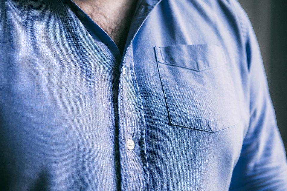 chemise homme fort