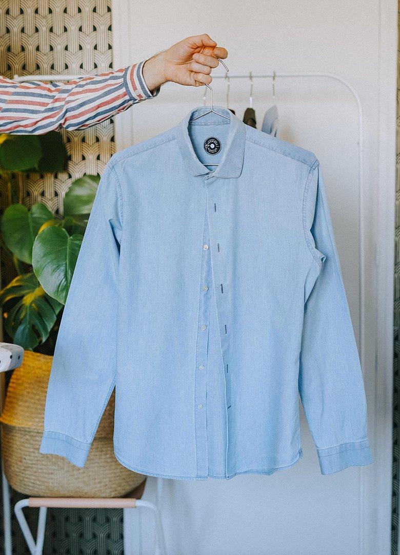 comment repasser chemise clean