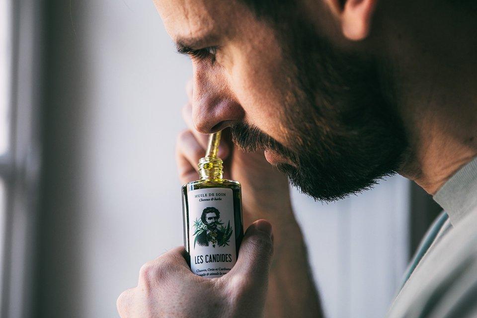 huile les candides odeur
