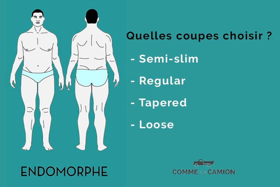 jeans morphologie endomorphe