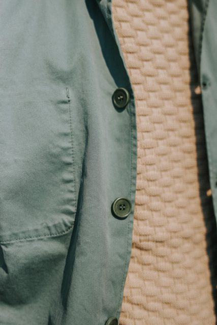 look max la caravelle veste travail boutons jaqk