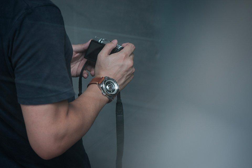 Montre Tacs automatic vintage lens II