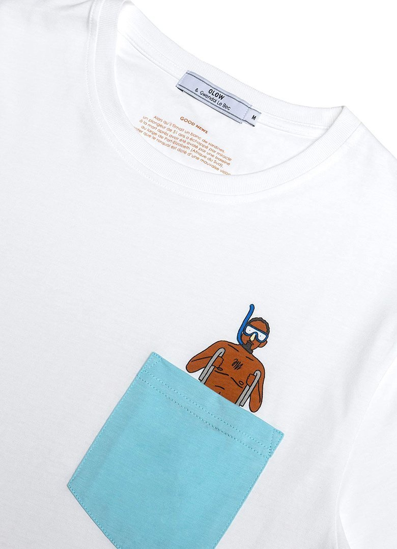 olow good news tshirt