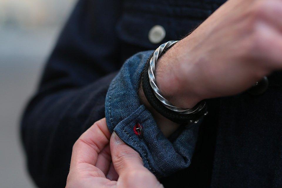 Bracelet Atelier Septentrion Twisted Bangle
