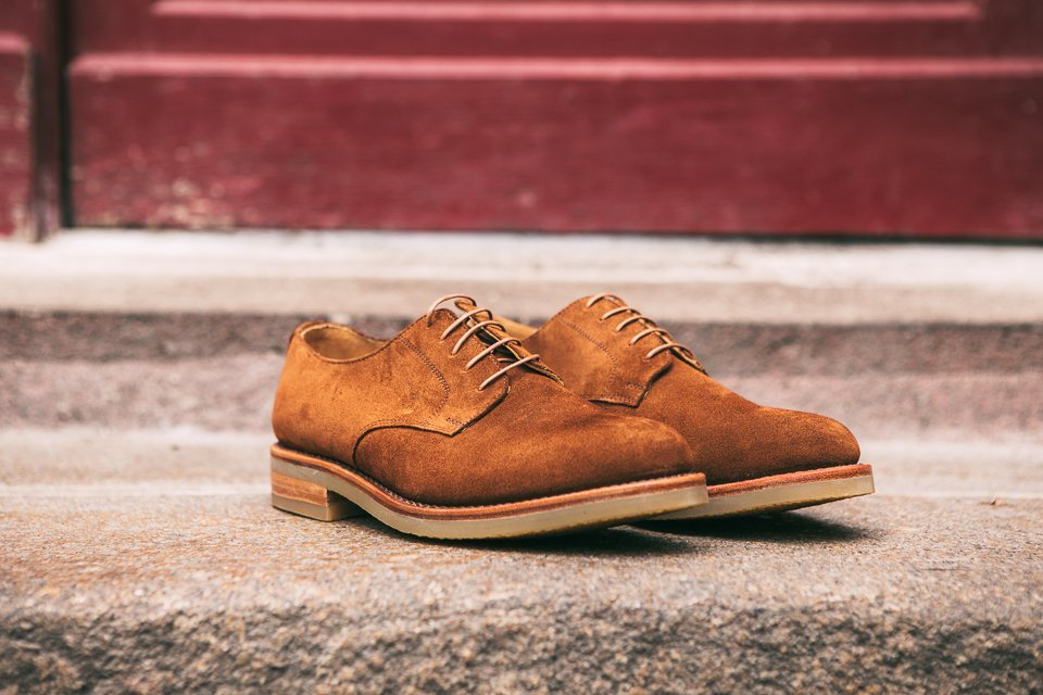 Chaussures hommes ypson velours look