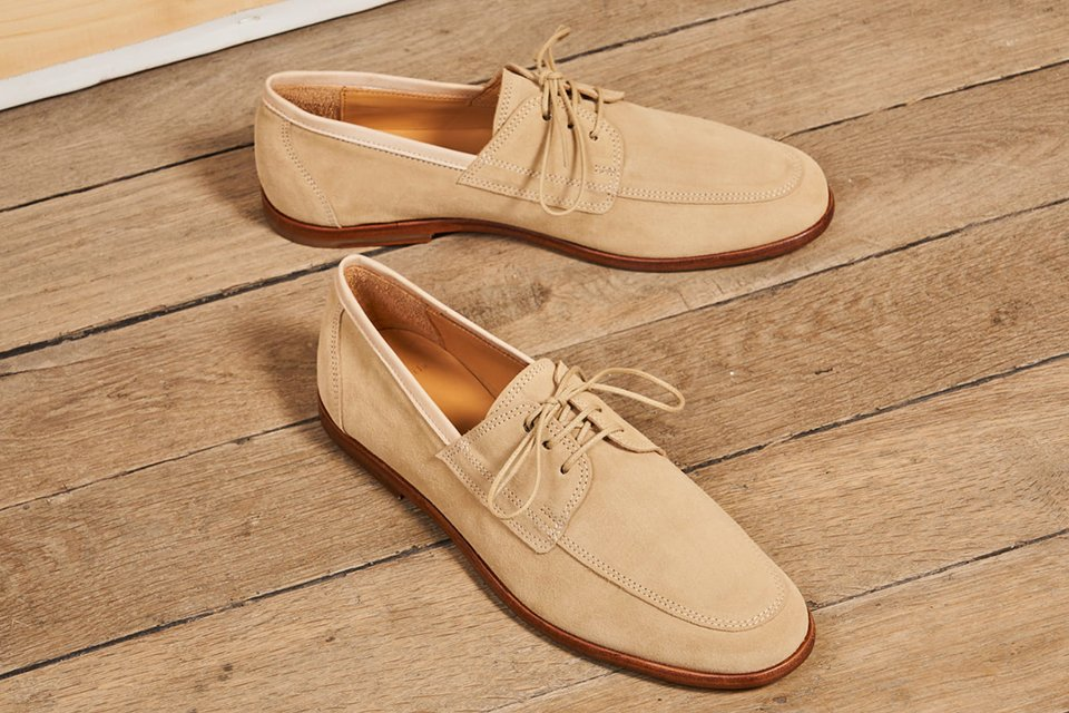 derby mocassin chaussure mariage
