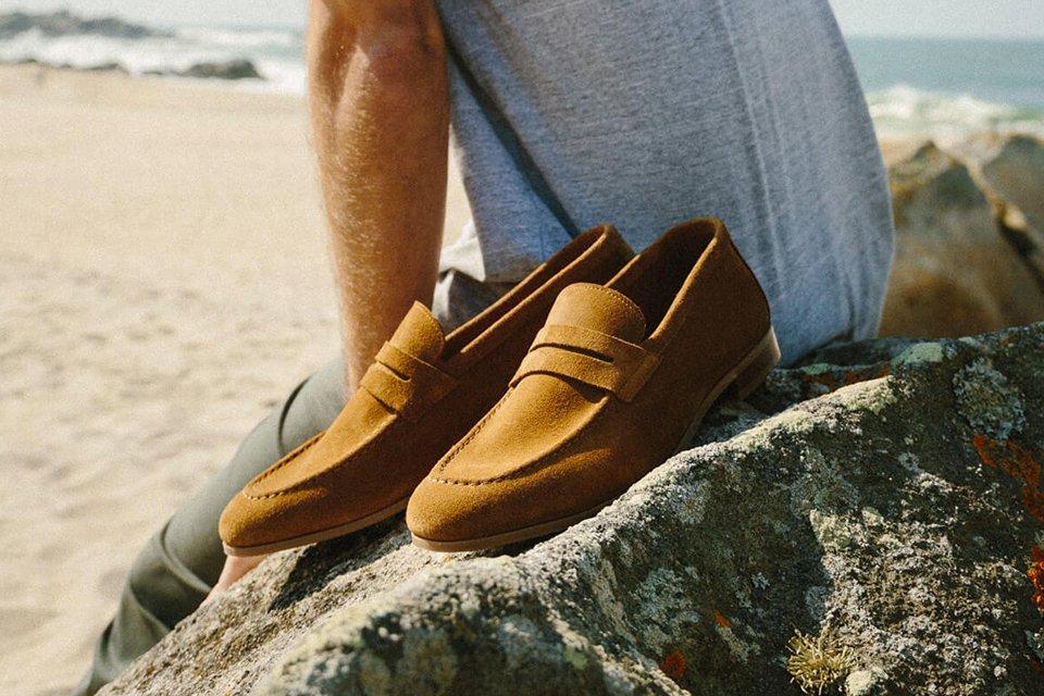 mocassin incorio chaussure mariage