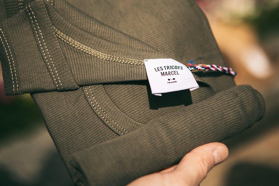 tricots marcel kaki