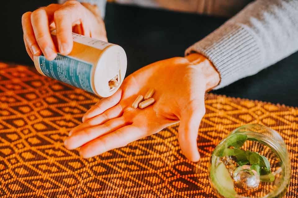 UNAE Primobiotiques Gellules Main