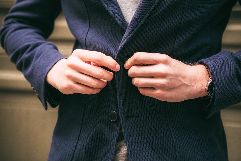 veste thenines boutons