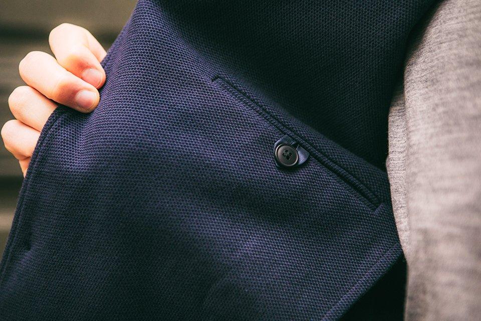 veste thenines poche