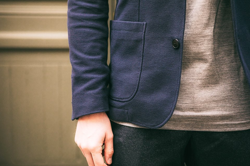 veste thenines poches