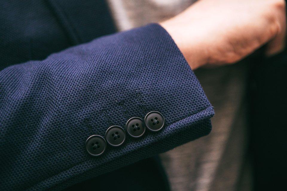 veste thenines poignets