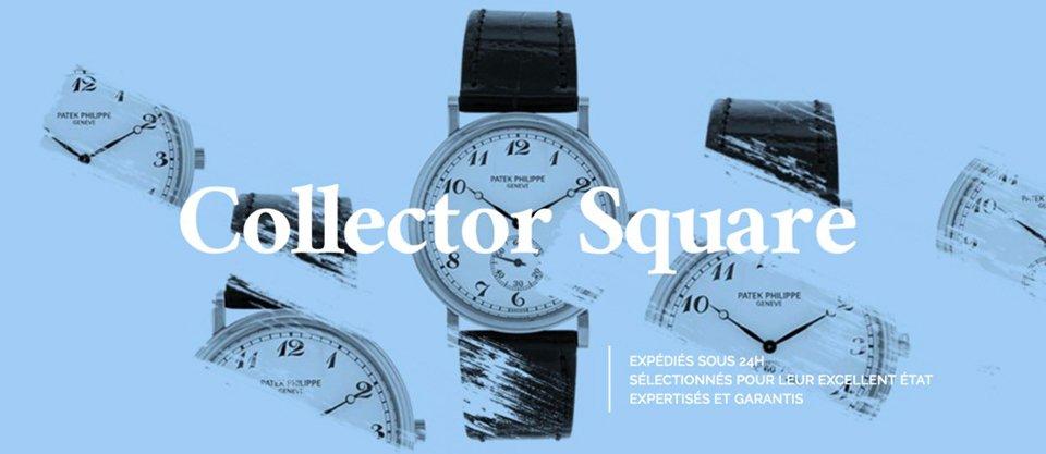 Collector Square Montre